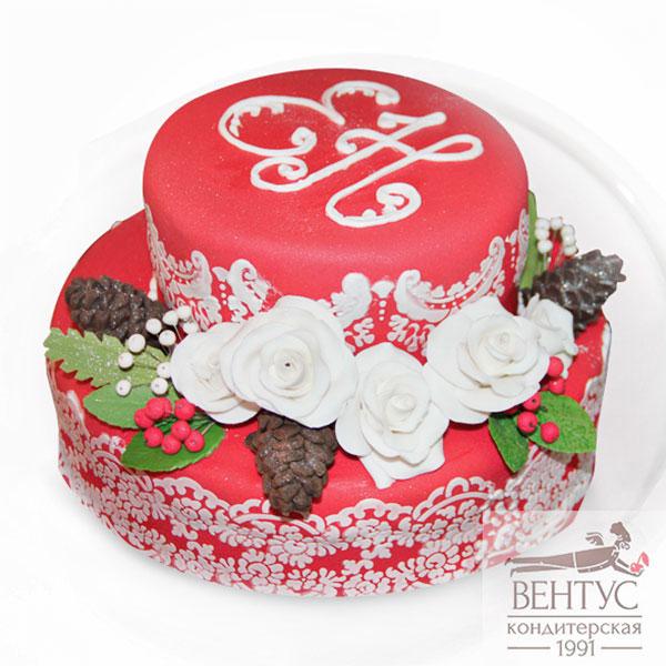 Свадебный торт №21