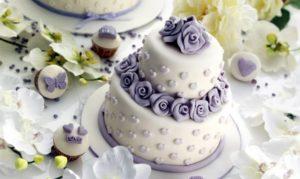 Тренды современных свадебных тортов
