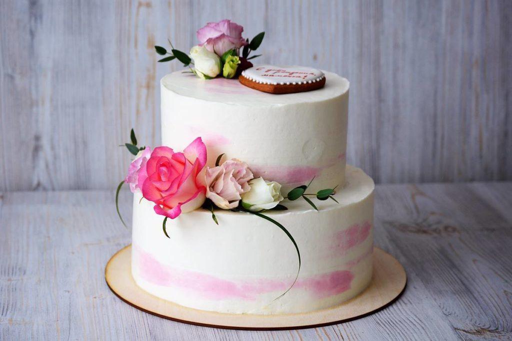 Торт к свадьбе