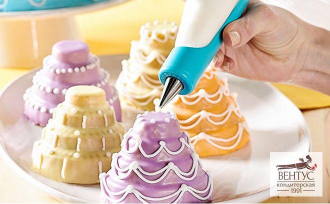 Украшение тортов и пирожных