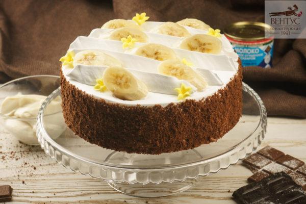 Торт - Банановый