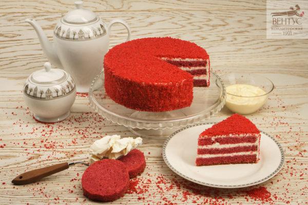 Торт - Красный бархат