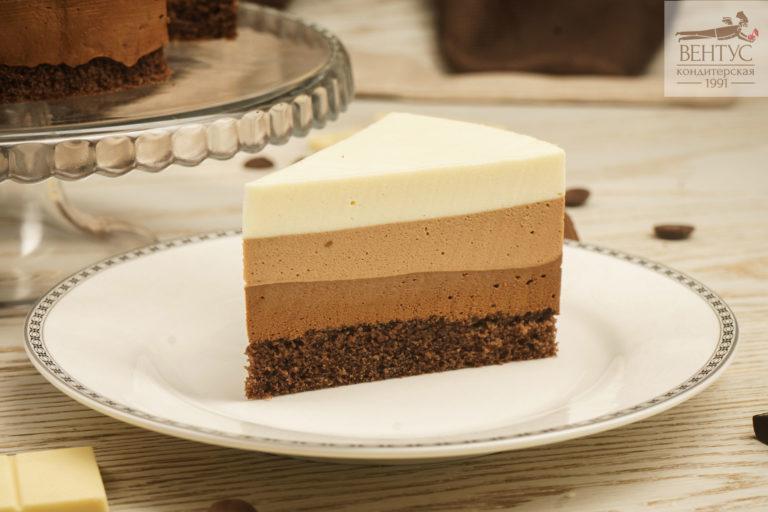 Торт - Три шоколада