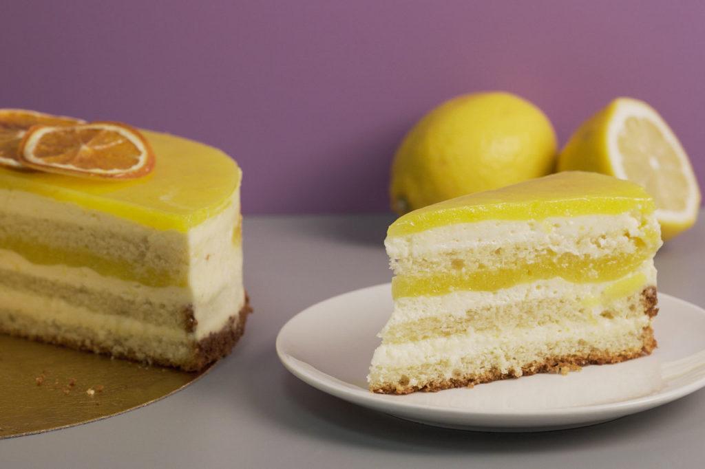 Дегустация торта «Лимонный»